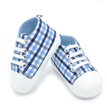 High Quality Baby Shoes Girls Goys 2016 Fashion Rainbow Canvas Shoe Soft Prewalkers Casual Baby Shoes LH7(China (Mainland))