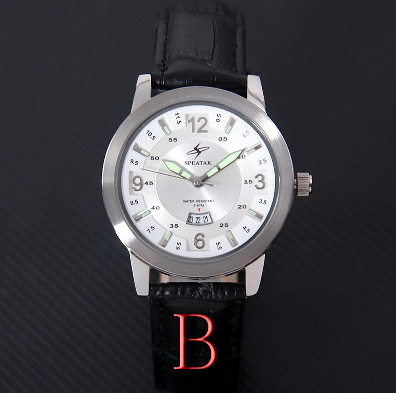Top sales 2015! men dress watches Textured leather strap luxury stainless steel quartz watch relogios masculinos water resistant