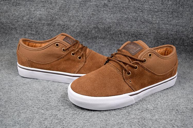 Фотография 2016 Fashionable Boys GLOBE MAHALO Board Shoes Toffee Anti-Fur Street Shock-Absorbant Footwear Size5-11 Available