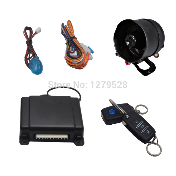 Car Alarms Auto Electronics Automobiles Security One Way Universal Flip key Hot 2014(China (Mainland))