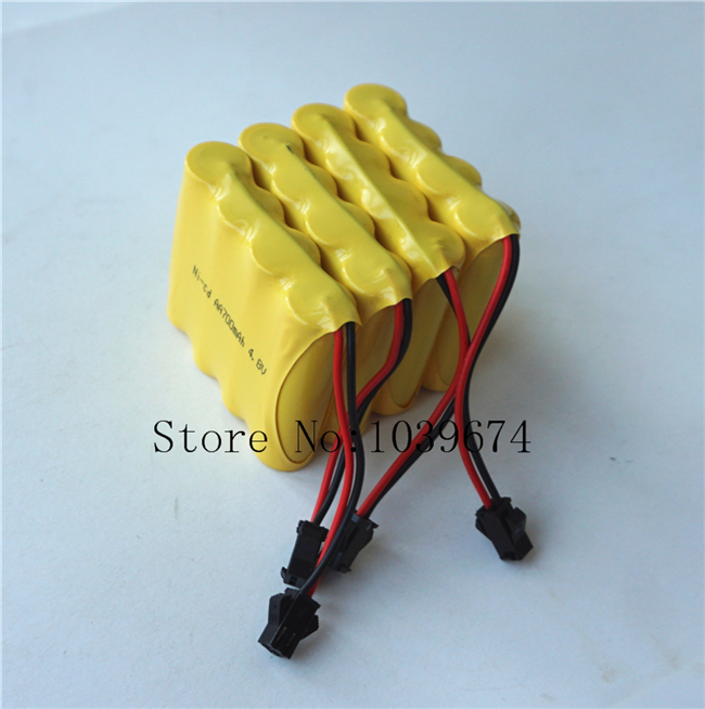 FREE Charger for A Grade 4 8V 700MAH AA Ni CD Rechargeable Battery Packs Cells for