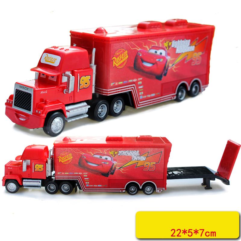 Hot Sale Cartoon Cars Pixar Cars Truck Diecast 1:55 Metal Toy Car Model Children Toy(China (Mainland))