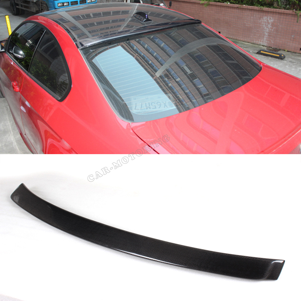 Top Quality E92 AC Style Carbon Fiber Car Roof Wings ,Roof Spoiler For BMW (Fits E92 ) <br><br>Aliexpress