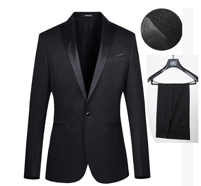 Slim Homme Hommes Costume Slim Fit