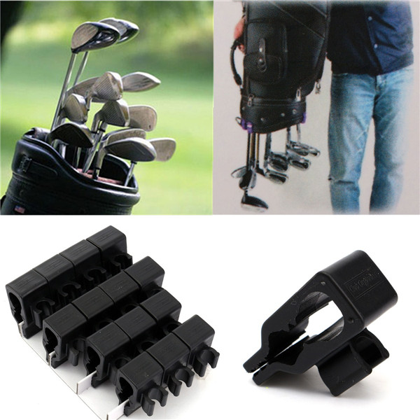 Wholesale 14Pcs Golf Bag Clip Holder Set Club Clip Ball Marker For All Wedge Iron Driver Putter Cue Fitting(China (Mainland))