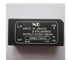 5pcs/lot AC 220V to DC 12V Converter 3W single ac dc power modules NA03-T2S12 Free shipping<br><br>Aliexpress