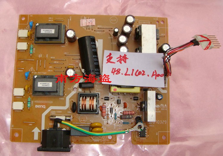 Free shipping 48.L1C02.A00 FP71G FP71G + Q7T4 OEM board power board(China (Mainland))