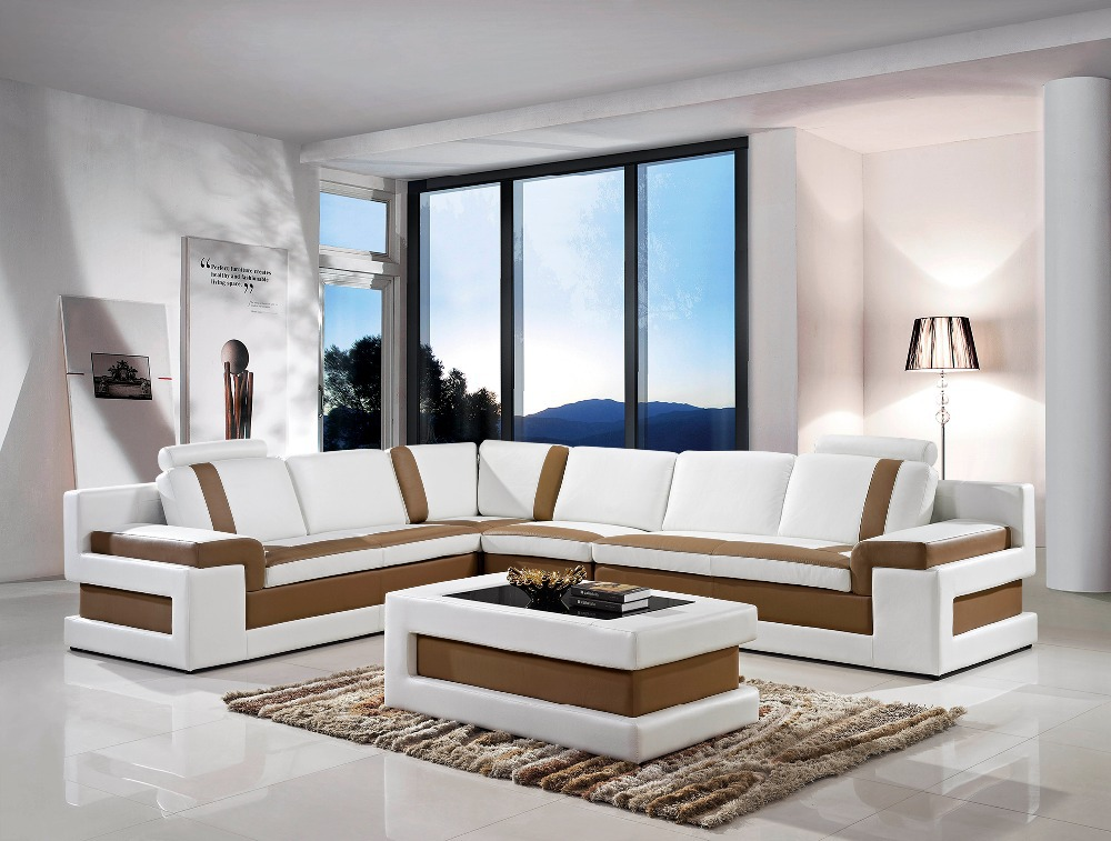 2014 Modern living room furniture cheap modern sectional sofas modern sectional # 5083(China (Mainland))
