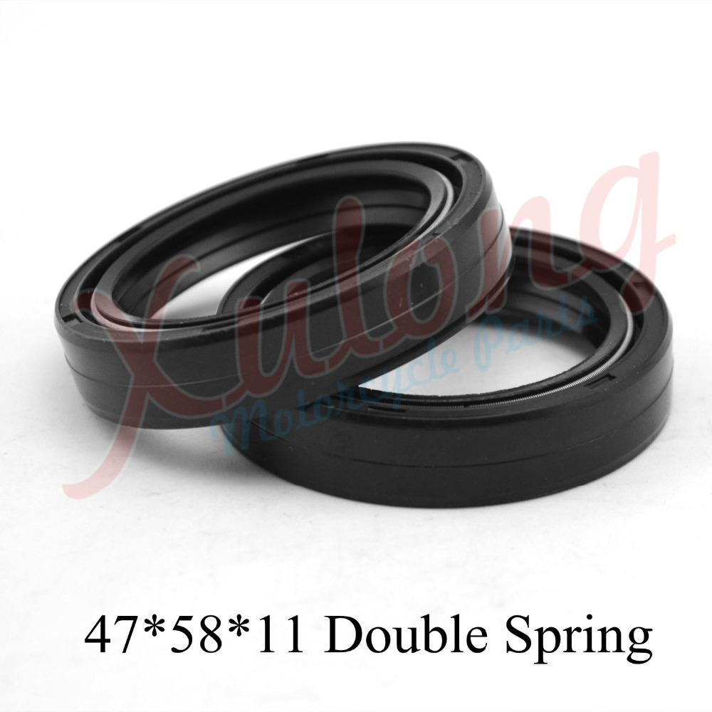 47*58*11 Motorcycle Accessories Front Fork Damper Oil Seal For CR250 CR 250 1997 Shock Absorber Oil Seal(China (Mainland))