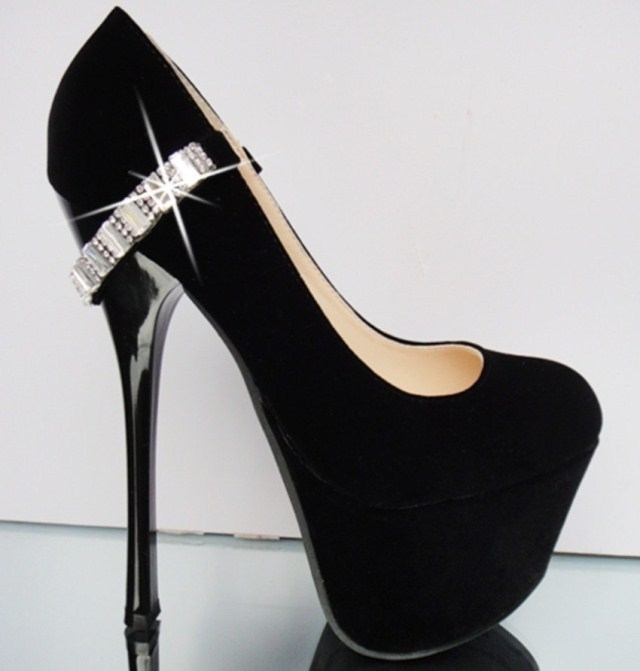 Ladies Black High Heels