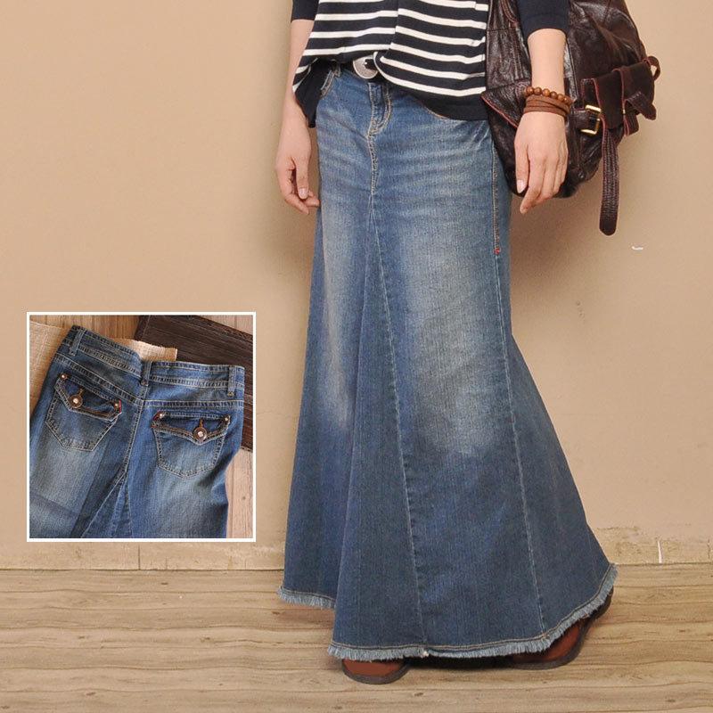 купить джинсовую юбку карандаш в интернет магазине