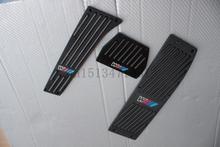 Бесплатная доставка! алюминиевый сплав автомобиль педали охватывают педаль педаль металла для BMW x1, x3, e46, e90, e92, e93, e87, 3 серии, новый 1 в