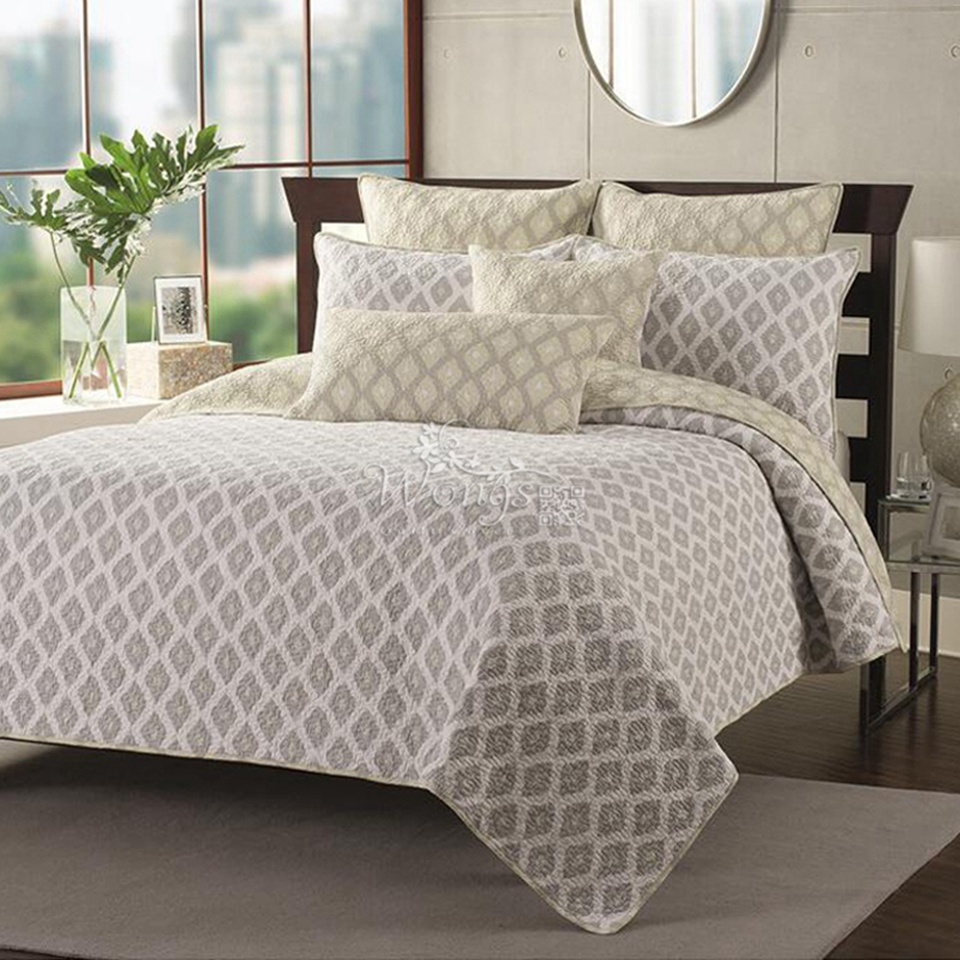 New 2016 100 cotton quilted coverlet set queen comforter for Bed sets with mattress included