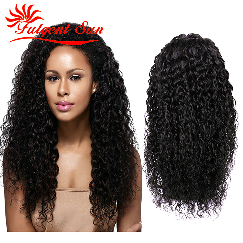 brazilian curly lace wig front lace wig human hair brazilian curly virgin lace wig human hair lace front wigs black130% density(China (Mainland))