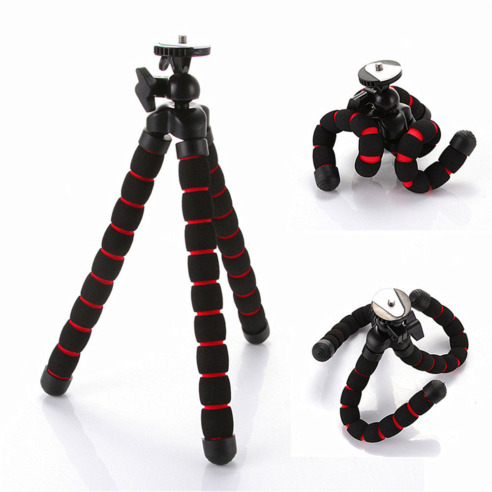 Flexible Tripod for GoPro HERO Cameras Gorillapod Type Monopod Flexible Tripod Leg Mini Tripods for Digital Camera Holder T35(China (Mainland))