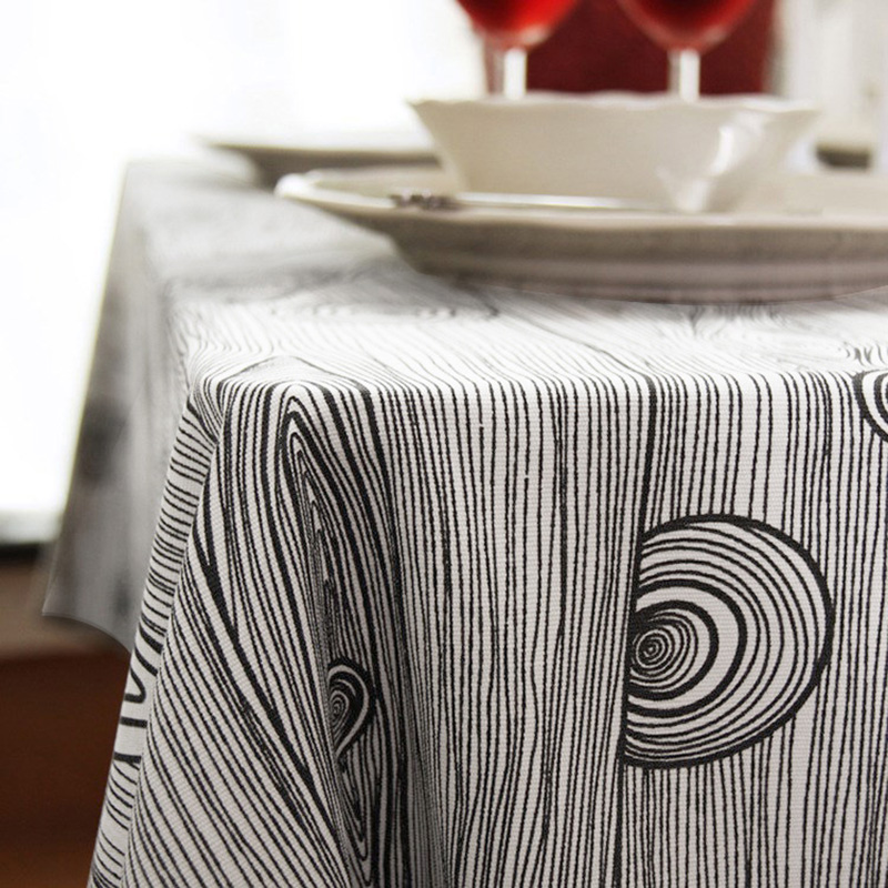 Creative design Cotton table cloth square for banquet multi-size high quality tablecloths free shipping(China (Mainland))
