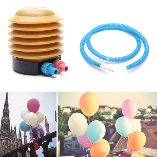 Plastic Air Foot Inflator Pump Essential Balloon Inflatable Toys Practical Helper Wedding Accessory Pumps(China (Mainland))
