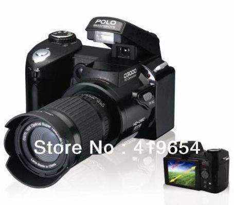 "D3000 Digital SLR camera photos 16MP 3.0 "" LTPS screen, + 21 times telephoto lens + wide angle lens 1pcs/lot DHL Free Shipping(China (Mainland))"