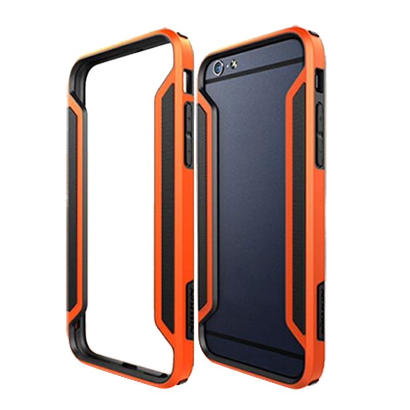 2016 High Quality Armor-Border Series Ultra-Thin Luxury Bumper Case For Apple iPhone 6 6S iPhone6 Gift Screen Protector Orange(China (Mainland))