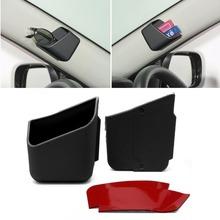 2pcs Universal Car Accessories Glasses Organizer New Storage Box Holder Black(China (Mainland))