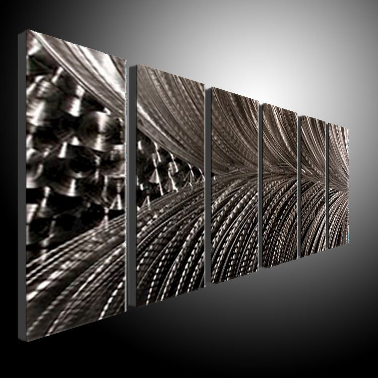 Star metal wall art modern abstract painting sculpture for Deco metal mural