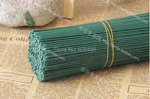 (30pcs/lot )Green Artificial flower plants stalk green twigs pole accessories wedding decoration artificial flowers  (China (Mainland))