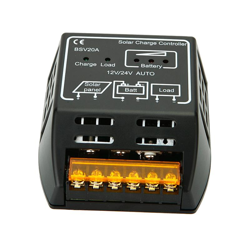 May 25 Mosunx Business 20A 12V/24V Solar Panel Charge Controller Battery Regulator Safe Protection(China (Mainland))