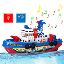 Electric Fire Boat Model Aircraft Carrier Warship Electric Toy Boat Offshore Battleship Toys Gift for Children Can Sail in Water(China (Mainland))