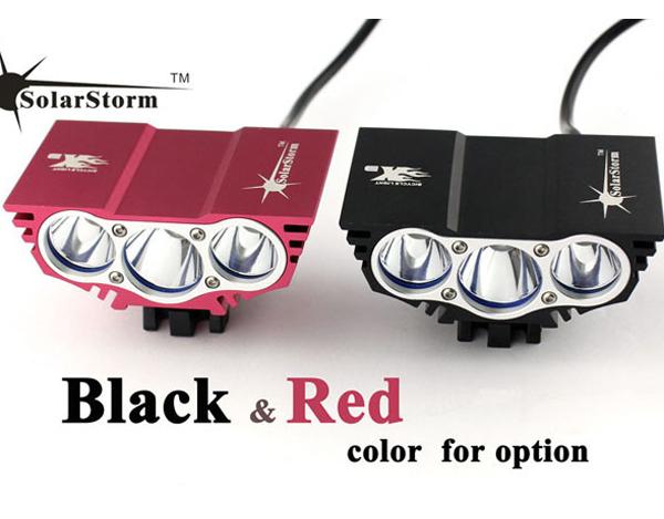 New 2014 Bicycle Lamp SolarStorm X3 3xCree XM-L U2 4-Modes 6000-lumen Bicycle Bike Light (4*18650 Battery) Free Shipping<br><br>Aliexpress