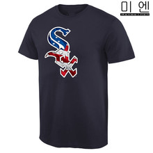 Men's 2016 USA Flag White Frank Sox Bo Todd Thomas Frazier Jose Jackson Abreu Banner Wave T-Shirts Navy Accept Customs !(China (Mainland))