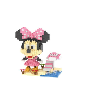 Mickey Mouse New Minnie Donald Duck Daisy minifigures minecraft building Blocks Collection Action Figure Model Kids Toys 0820(China (Mainland))