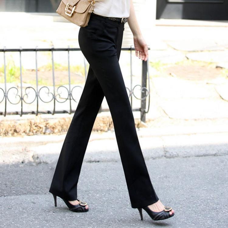 2016 Spring Summer Formal Pants Women Work Wear Office Career Slim Suit Pant Ladies Spring ...