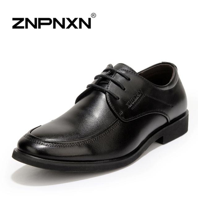 Мужская обувь свободного покроя новый лакированной кожи мода мужчины бизнес-апартаменты ...