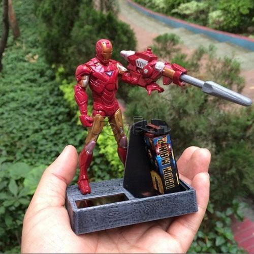 Фигурка героя мультфильма  Iron Man 3 4 фигурка героя мультфильма legacy 501 s370 3 75