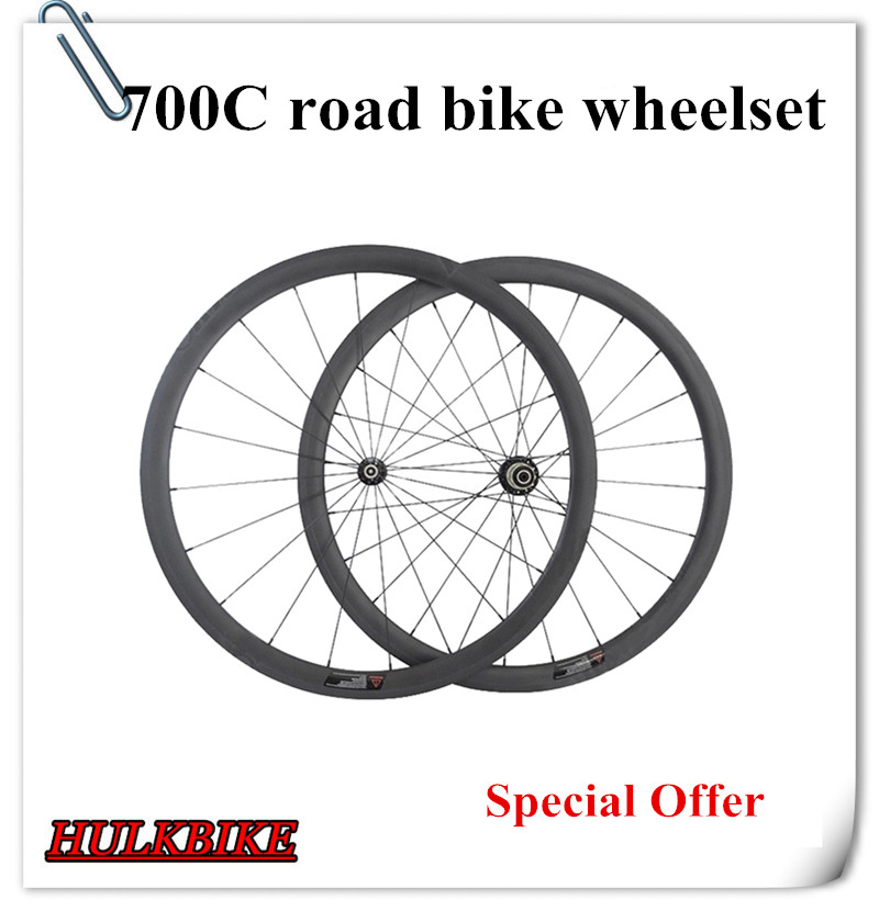 Special Offer 38mm clincher wheelset 700c full carbon fiber road bicycle wheels wheels bike wheels wholesale carbon bike wheel(China (Mainland))