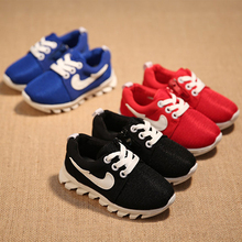 Many color options new 2015 children's shoes for boys and girls running shoes breatha