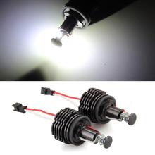 2 H8 20W LED CREE Angel Eye Light 6000K White for BMW E87 E92 E93 M3
