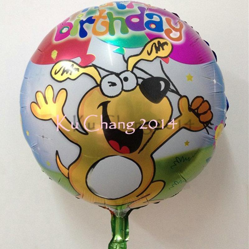 WholeSale! Birthday balloon 10pcs/lot New Decor 18 Inch Silver Foil Balloons Birthday Party Decoration Craft Balloons(China (Mainland))