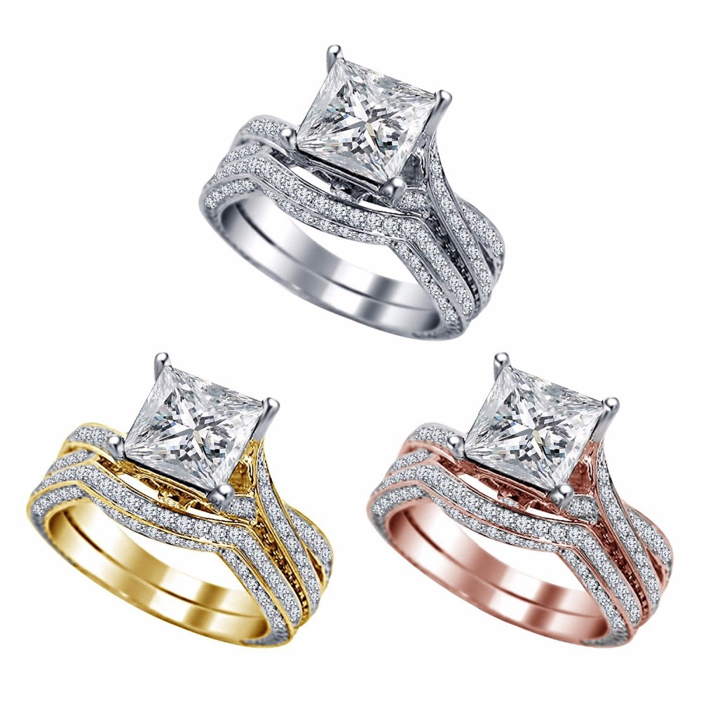 31 gorgeous high quality cubic zirconia wedding rings
