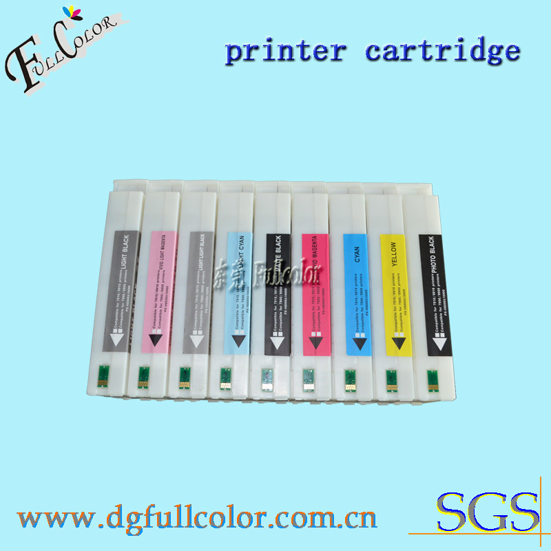 DHL Free shipping 9 pieces lot 700ML printer ink cartridge compatible for epson 7908 bulk ink