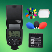 Buy Godox V850 GN58 Speedlight Flash Light Speedlight w/ Rechargeable Lithium-ion Battery Nikon Canon Olympus Pentax for $119.00 in AliExpress store