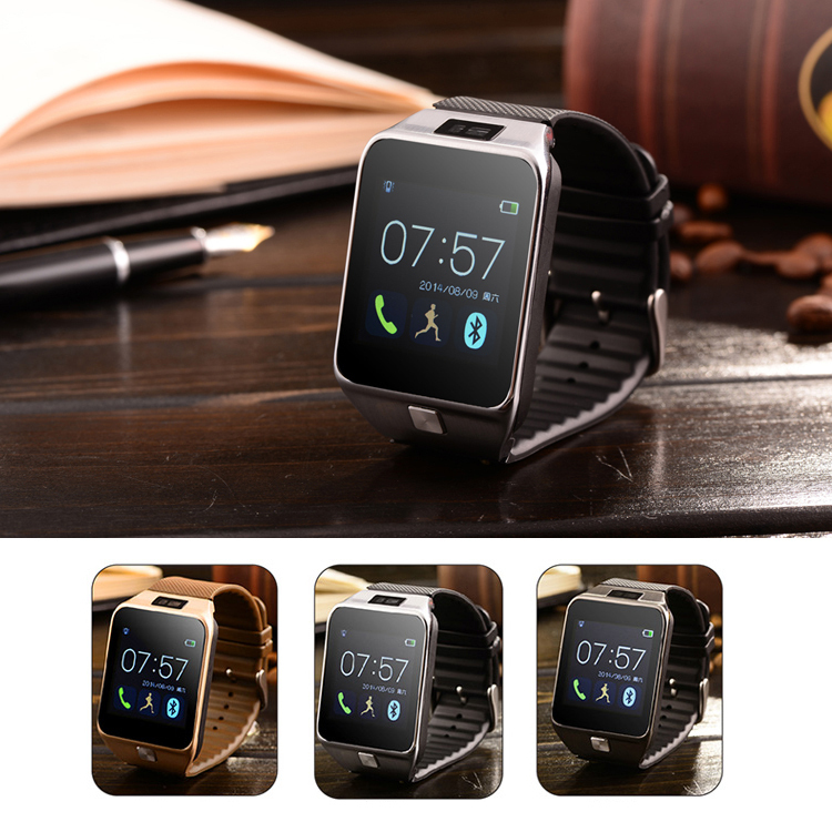 "Bluetooth 4.0 Smart Watch ios 1.54"" Capacitive HD Screen 240X240 Resolution MTK6260T WhatsApp Skype MSN For Android and iPhone(China (Mainland))"