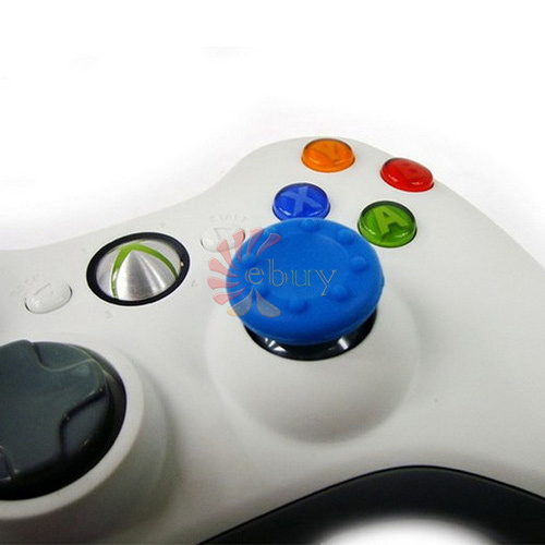 Silicone Thumbsticks Joystick cover Antislip caps case ps3/ps4/ XBOX 360/WII/Wii u 3D Controller,Blue - ShenZhen 9iebuy Technology Co.,Ltd. store