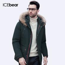 ICEbear 2016 Высокое Качество Зимняя Куртка Мужчины Сгущает Пальто Известный Хлопка Мягкой Моды Парки Бизнес Плюс Размер 5XL16M623D(China (Mainland))