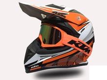 Free Shipping KTM Motorcycle Helmet Casco Capacete ATV Dirtbike Off Road KTM Motocross Helmets(China (Mainland))