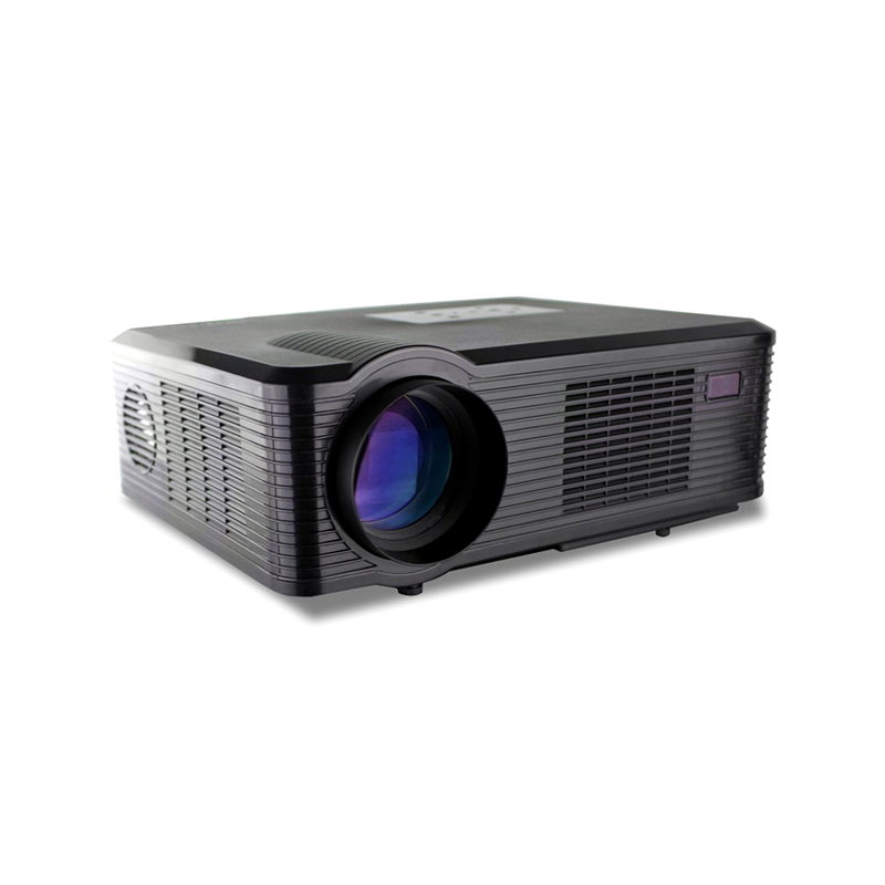 Fastfox Hd Projector Full Color 720p 3000 Lumens Analog Tv: HD Projector Full Color 720P 2400 Lumens Digital TV Single