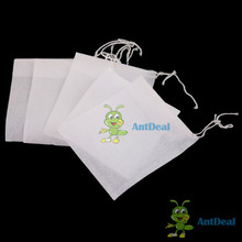 AntDeal A wise choice 50 PCS Empty String Heat Seal Filter Paper Tea Bag 6X8CM Fancy!(China (Mainland))