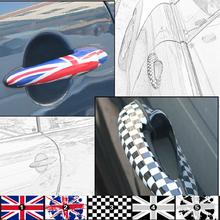 2 x Car Door Handle Sticker Decals BMW MINI COOPER Countryman R50 R52 R53 R55 R56 R57 R58 R59 R60 R61 R62 - Elife Zone Co., Ltd store
