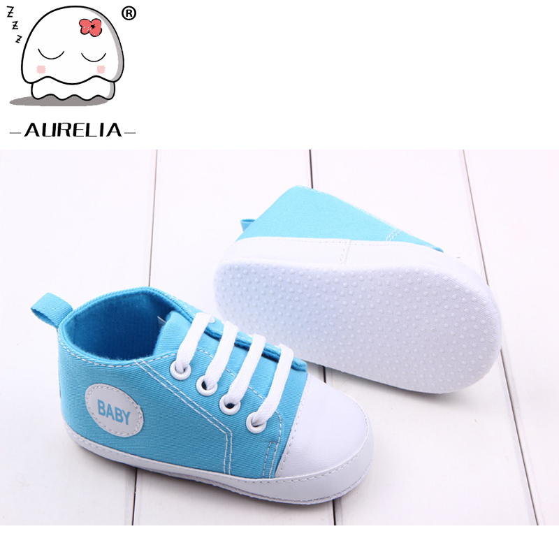 2015 Fashion Infant Toddler Newborn Shoes Baby Girl Boy Sports Sneakers Soft Bottom Anti-slip T-tied First Walkers Prewalker(China (Mainland))
