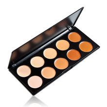 New 10 Color Camouflage Concealer Palette Eye Face Cosmetic Makeup Cream Free Shipping